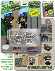 URF! Wave 2: Action Force 4: Riled and Rossbo